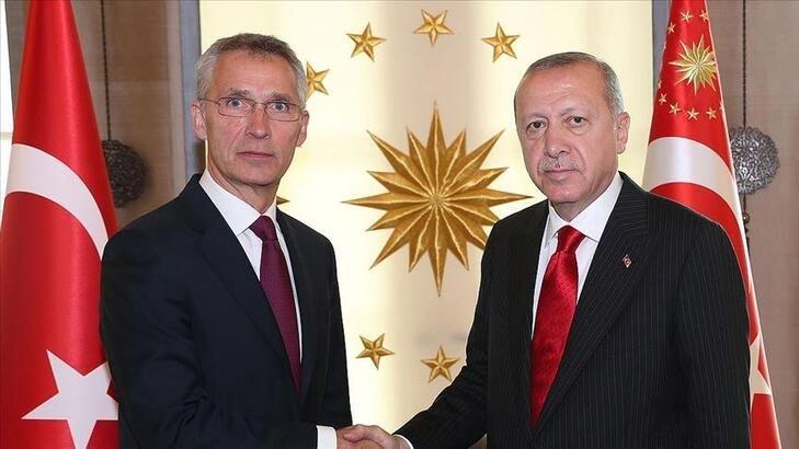 Cumhurbaşkanı Erdoğan'dan Stoltenberg'le kritik görüşme