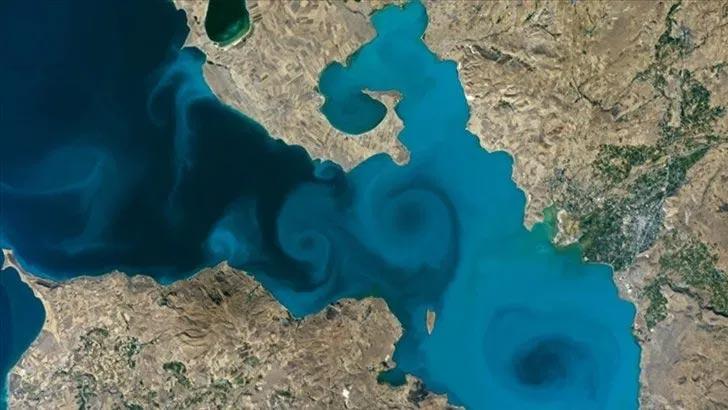 Van Gölü fotoğrafı, NASA'nın yarışmasında 1. oldu!