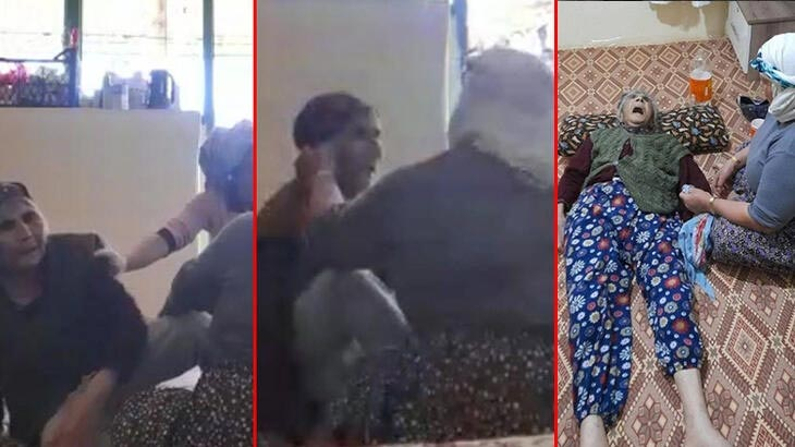 Kan donduran görüntü! Ölen yaşlı kadın, gelini tarafından dövülmüş
