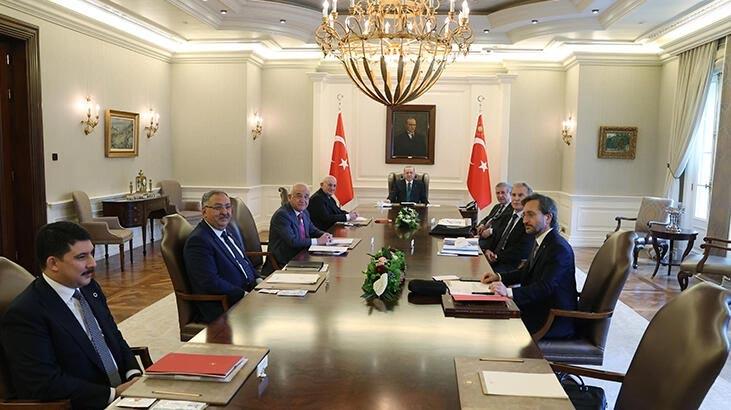 Cumhurbaşkanı Erdoğan, YİK Toplantısı'na katıldı