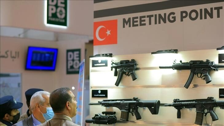 Bağdat'ta, Türkiye'nin de katılımıyla savunma ve güvenlik fuarı düzenlendi