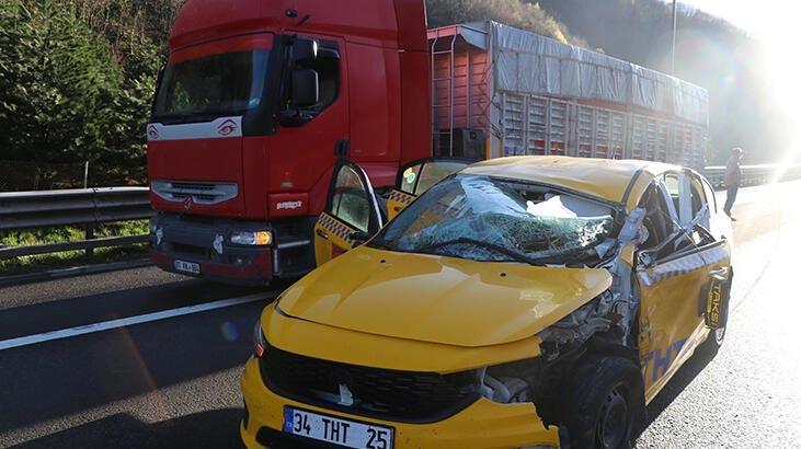 Gören şaştı kaldı! Bolu Dağı'ndaki kazada plaka detay