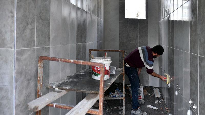 Demirtaş Sakarya Camii'ne yeni abdestlik