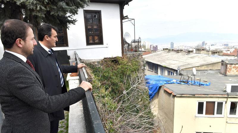 Başkan Dündar, Kavaklı'da incelemelerde bulundu