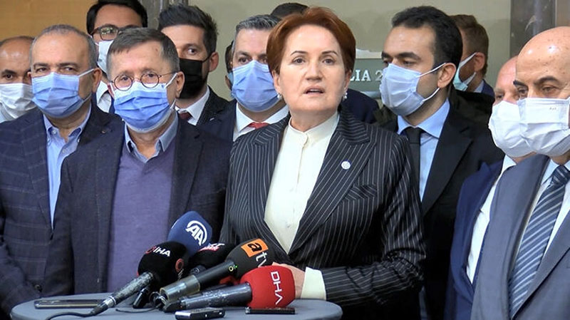Meral Akşener'den bildiriye tepki