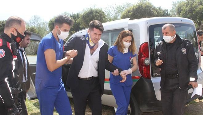 İcraya giden avukatı döven 3 kişi tutuklandı