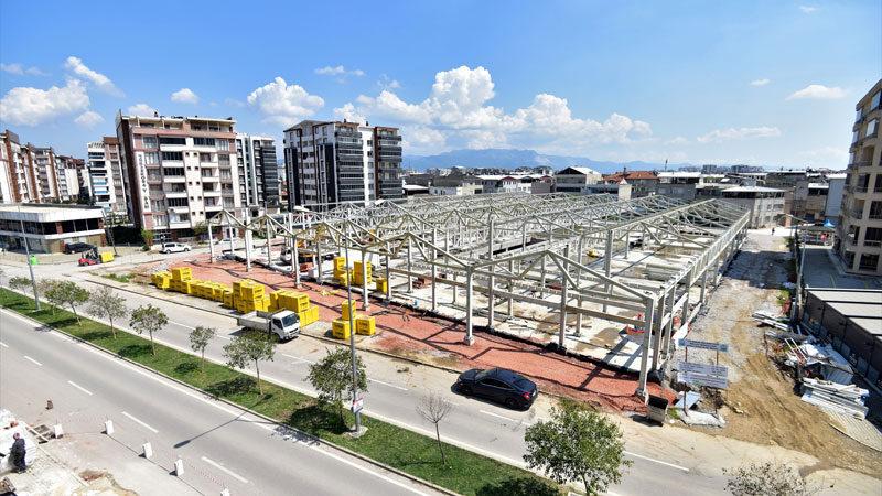 Bursa'ya bir pazar alanı daha! Temmuzda açılması planlanıyor