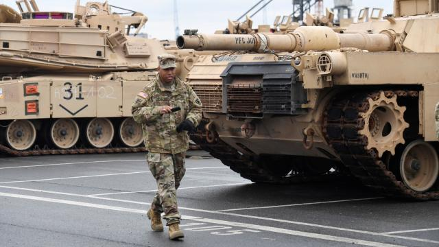 ABD, Almanya'ya 500 ilave asker gönderecek