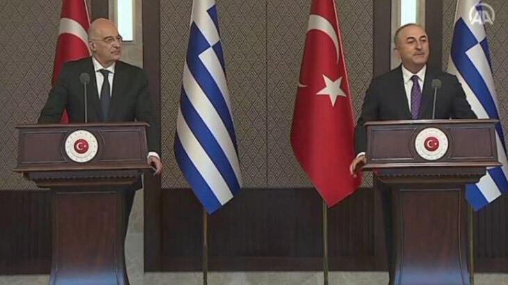 Yunanistan ile gergin görüşme! Bakan Çavuşoğlu sert çıktı…