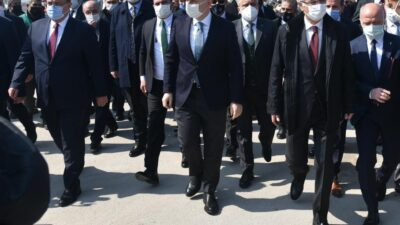 Ulaştırma ve Altyapı Bakanı Adil Karaismailoğlu Bursa'da