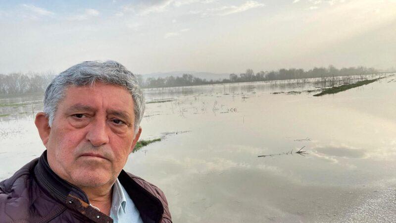 Bursa'da baraj kapakları açıldı, 30 bin dönüm arazi sular altında kaldı