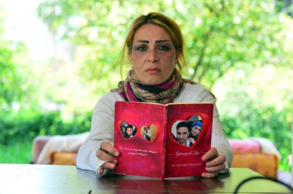 Öldüresiye dövdüğü eşi için aşk kitabı yazmış