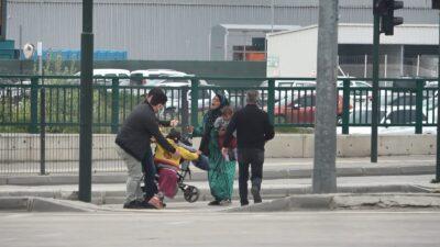 Bursa'da dilencilere operasyon