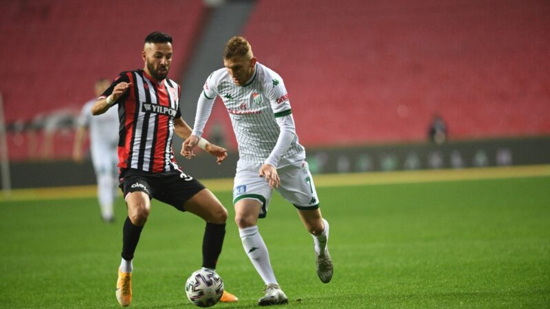 Bursaspor'dan flaş maç sonu yorumu!