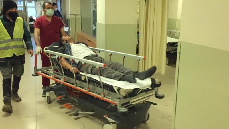 Bursa-Ankara yolunda çalışıyordu! Kendini bir anda hastanede buldu