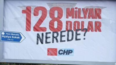 Mudanya'ya asılan bu afiş gündem oldu! CHP'den açıklama var…