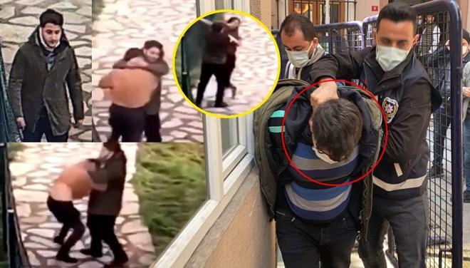 Sokak ortasında genç kadını taciz eden zanlı tutuklandı