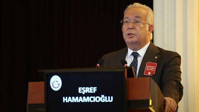 Galatasaray'da Hamamcıoğlu adaylığını açıkladı