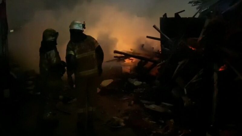 Bursa'da büyük panik! Hurdacıda yangın çıktı…