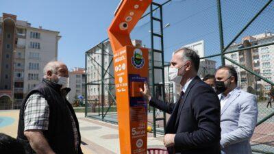 İnegöl akıllı parklarla donatılıyor