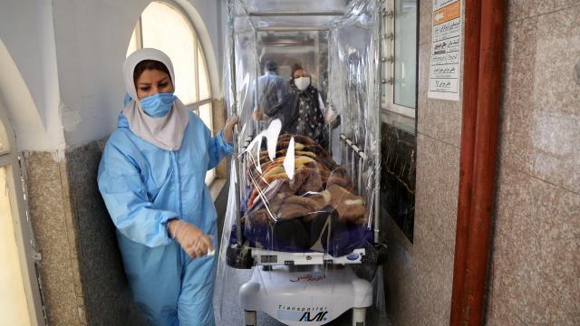 İran'da son 24 saatte 185 can kaybı