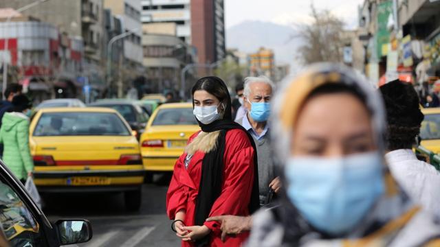 İran'da son 24 saatte 328 kişi hayatını kaybetti