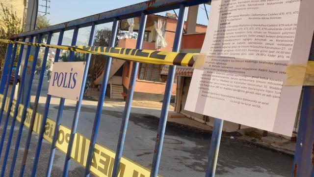 Vakalar arttı, mahalle karantinaya alındı