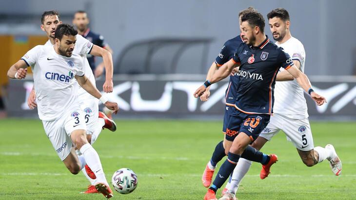 Süper Lig'de 36. hafta bitti! Başakşehir'den kritik skor…