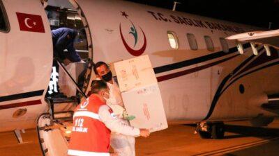 Türkiye'den KKTC'ye 40 bin doz aşı