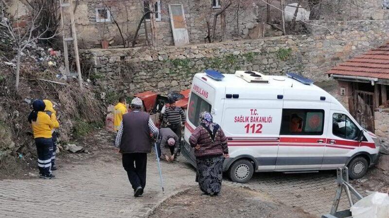 Bursa'da ambulans kaza yaptı! Korona hastasını almaya gidiyordu…