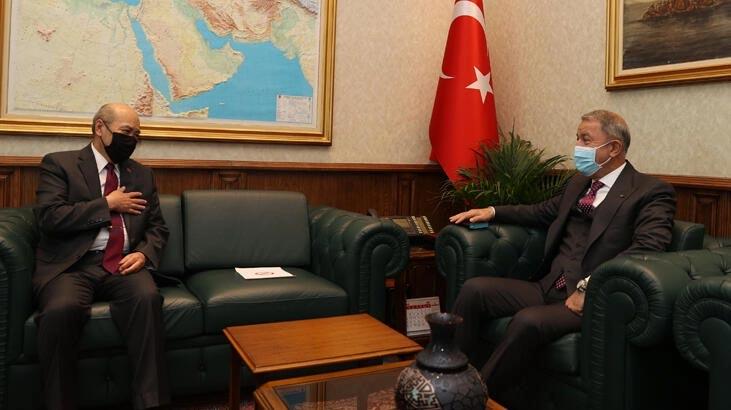 Bakan Akar, Moğolistan Büyükelçisi ile görüştü