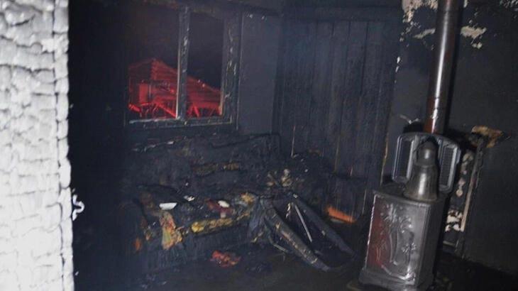 Kütahya'daki ev yangınında 83 yaşındaki kadın öldü