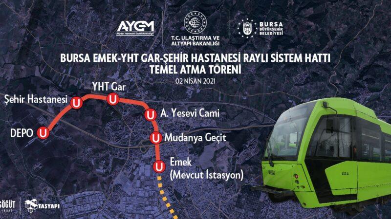 Bursa'da yeni metro hattına isim önerisi!