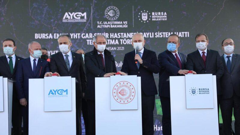 Bursa'da metro hattı temeli atıldı? Bitiş tarihini Bakan açıkladı…