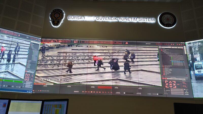 Bursa Polisi her yeri izliyor! Tek tek tespit ediliyorlar
