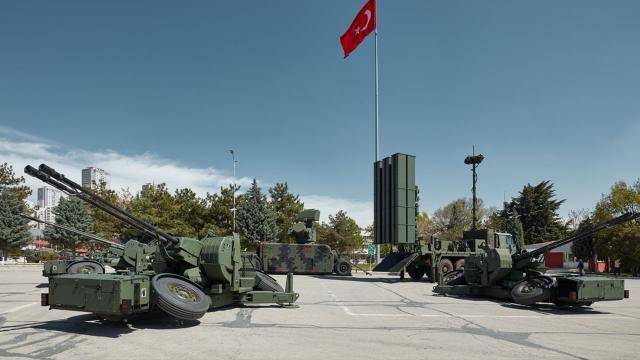Yerli alçak irtifa hava savunma sistemi TSK'ya teslim ediliyor