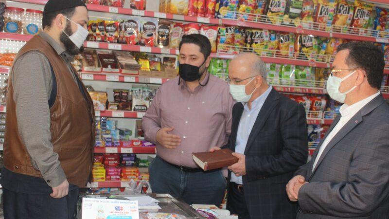 Bursa'da anlamlı hareket! Bakkal borçlarını kapattılar…