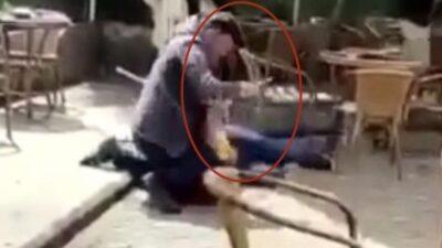 Bursa'da korkunç olay! Herkesin gözü önünde bıçakladı…