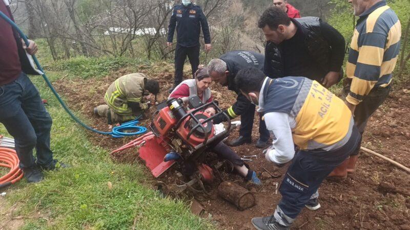 Bursa'da çapa motoru dehşeti…Ormanda hayat kurtarmak için zamanla yarış