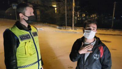 Bursa'da kısıtlamada alkollü yakalandı! Sözleriyle gülümsetti