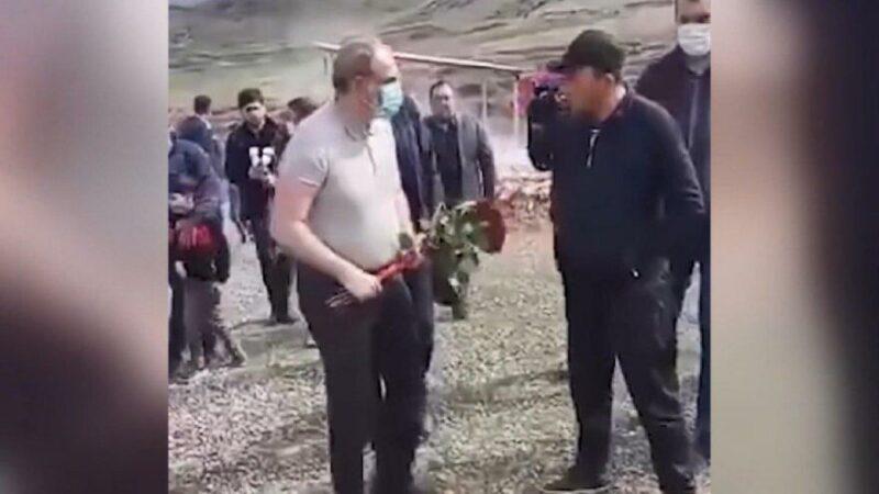 Paşinyan'a soğuk duş: Mezara çiçek bırakmasını engelledi