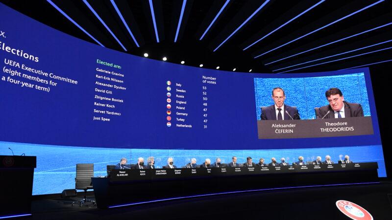 Servet Yardımcı yeniden UEFA yönetiminde!