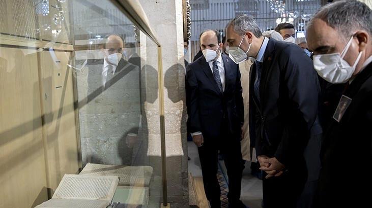 Bakan Gül, Mevlana Müzesi'ni ziyaret etti