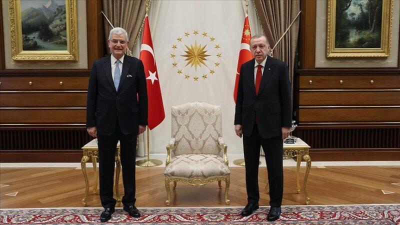 Cumhurbaşkanı Erdoğan, Volkan Bozkır'ı kabul etti