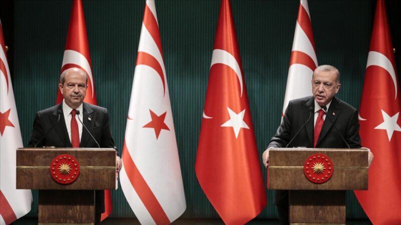 Cumhurbaşkanı Erdoğan, KKTC Cumhurbaşkanı Tatar'a başsağlığı diledi