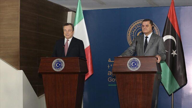Draghi'nin ilk yurtdışı ziyareti Libya'ya