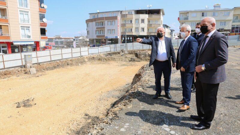Bursa'ya yeni kapalı pazar alanı!