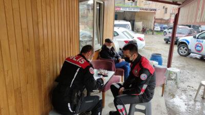 Bursa'da çay ocağındaki 11 kişiye cezası