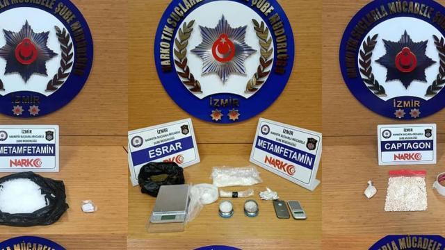 İzmir'de uyuşturucu operasyonları: 14 tutuklama