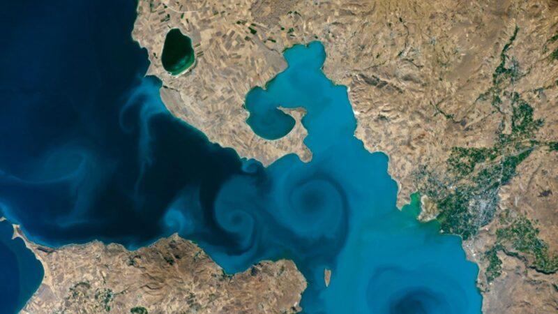 NASA'nın yarışması; Van Gölü kazandı…